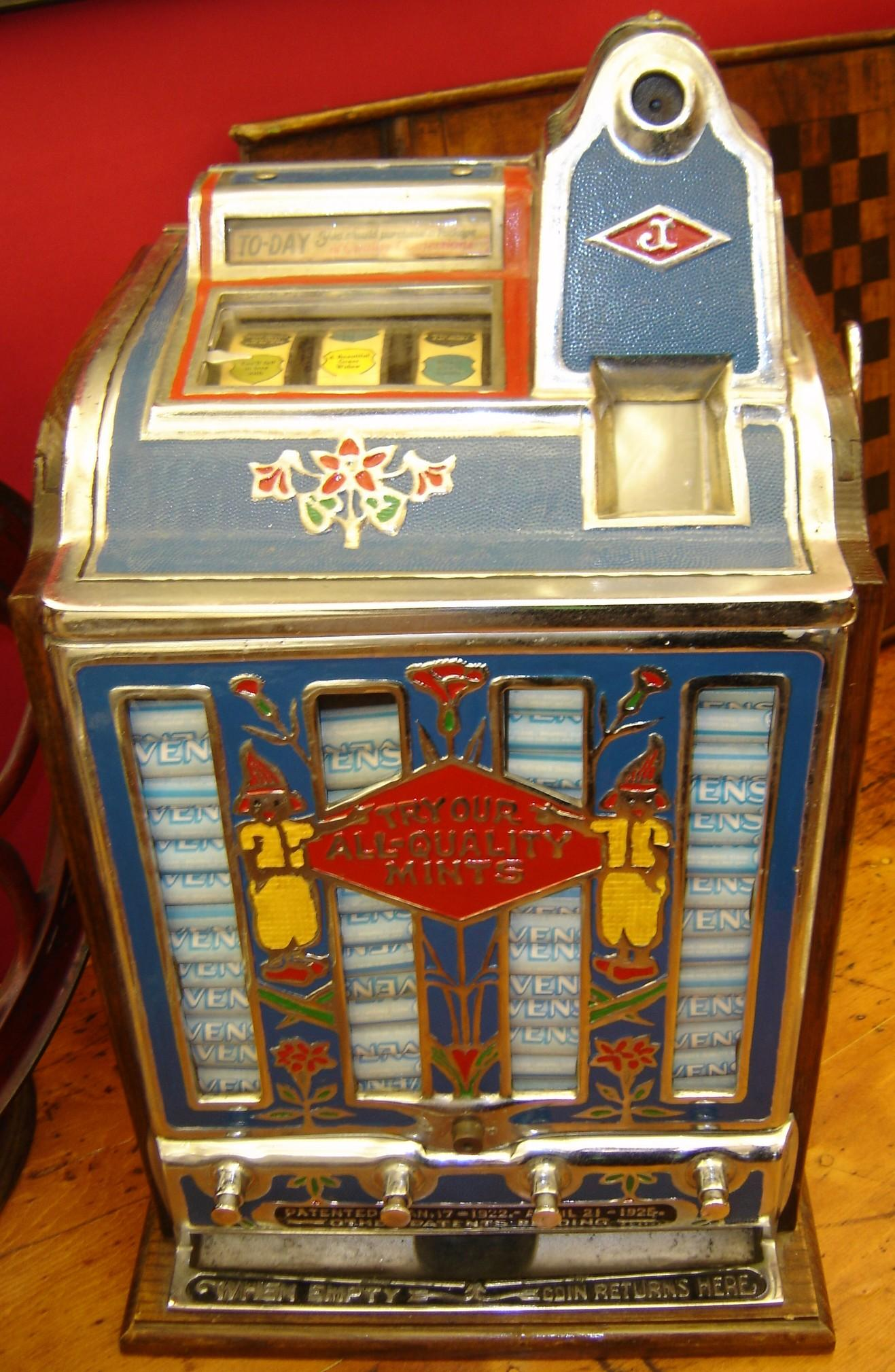 Iron Horse Antiques Coin Op Slot Machines Trade