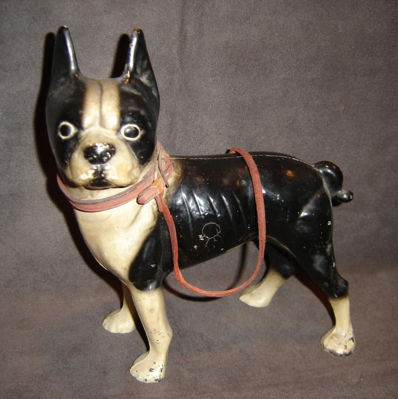 Boston Terrier Door Stop with Leash