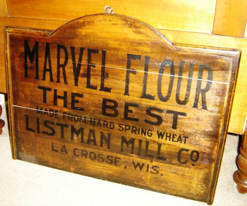Iron Horse Antiques, Marvel Flour, LaCrosse, Wisconsin
